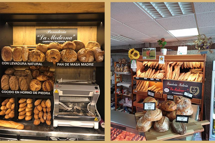 Puntos de venta-Panadería La Moderna-Sierra de Guadarrama
